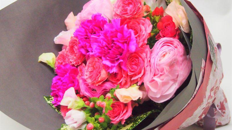 【誕生日】大人かわいい花束