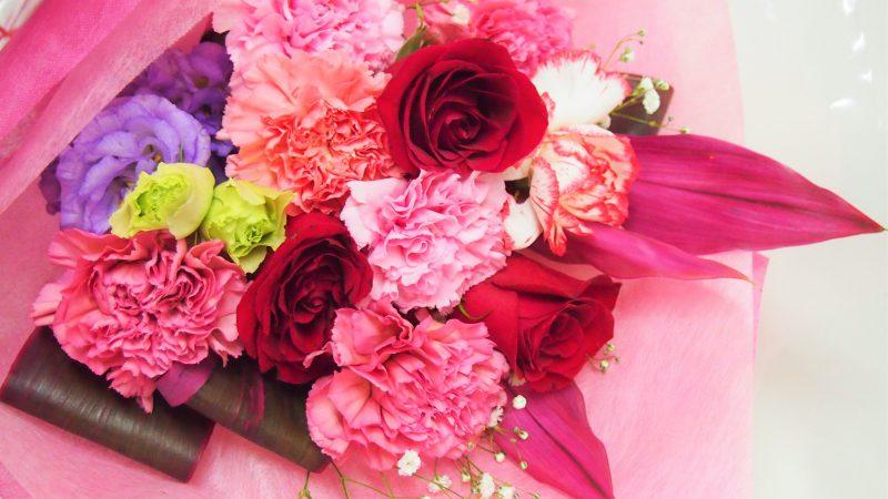 【記念日】赤バラの花束