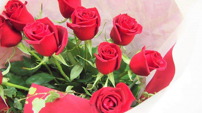 【記念日】バラの花束
