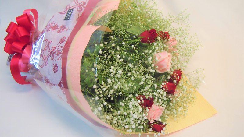【結婚記念日】メッセージブーケ
