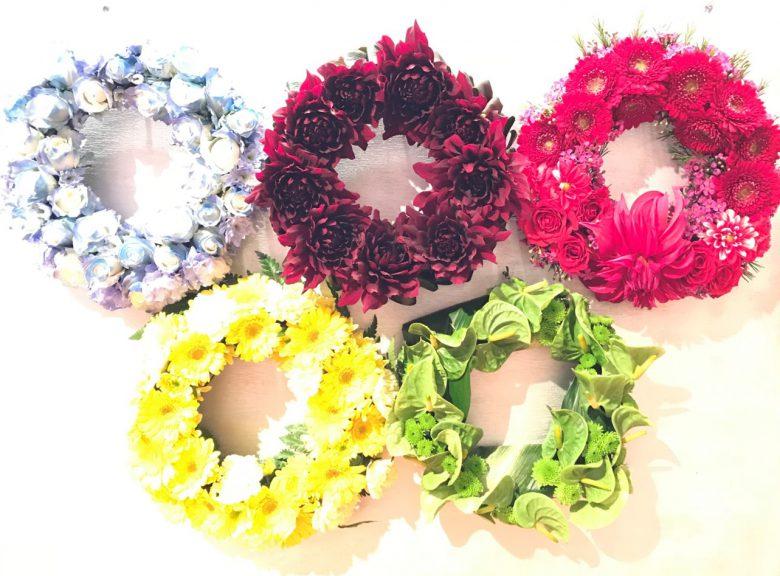特殊花装「オリンピックマーク」