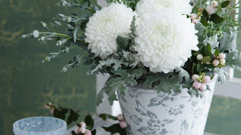 【11月 マム】花のある週末を ~WEEKEND FLOWER~