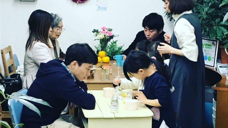 冬至にちなんで「柚子のモイストポプリ手作り教室」を開催しました